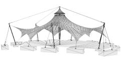 K3-Tent software for tensile membrane structures design